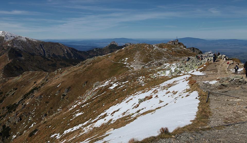Kasprowy Wierch, Top Of Kasprowy, Landscape, Tatry