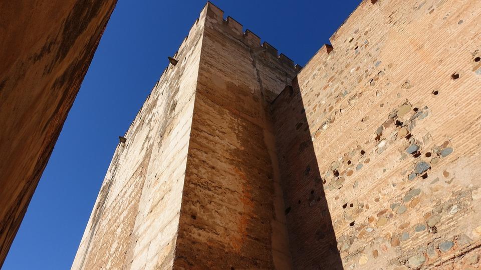 Architecture, Old, Ruins, City Walls, Gazebo, Top