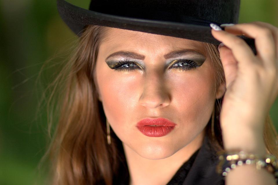 Girl, Topper, Blue Eyes, Seductive, Beauty