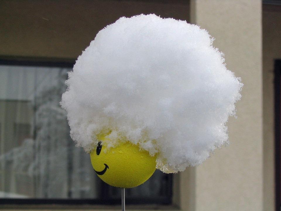 Smiley, Antenna, Topper, Snow, Hat, Fun, Creative, Art
