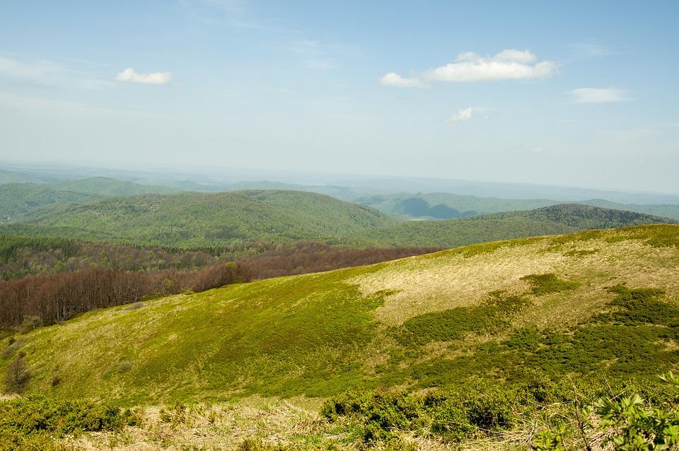 Landscape, Mountains, Nature, Top View, Tops, Tourism