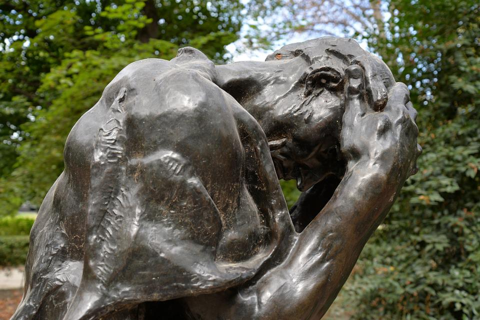 Sculpture, Torment, Rodin, Paris