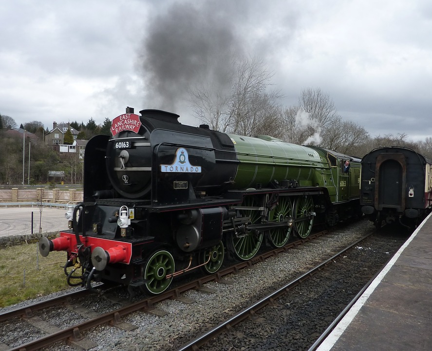 Tornado, Steam Train, Railway, Engine