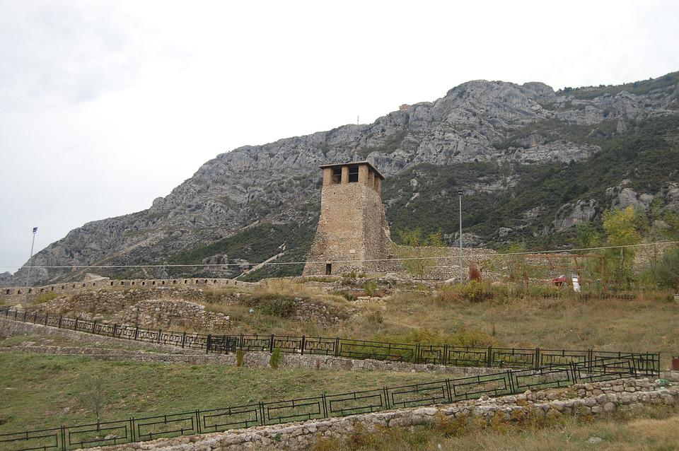 Torre, Nature, Castle, Middle Ages, Mountains, Old