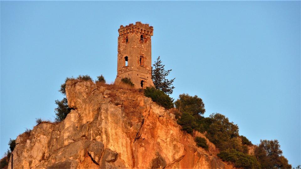 Torre, Travel, Sky, Outdoors, Nature, Rock, Rocca