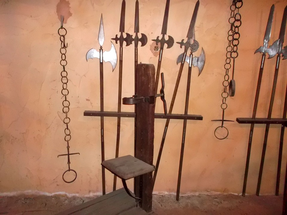 Medieval, Torture, Chains, Arms
