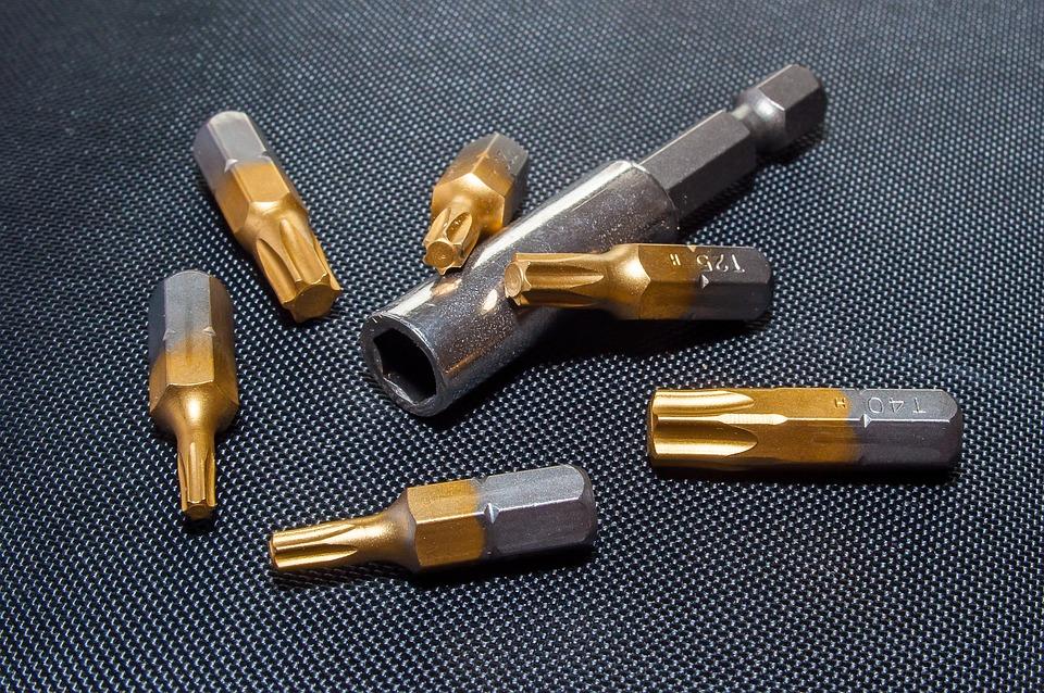 Torx, Bits, Metal, Iron, Tool, Screwdriver, Tools, Work