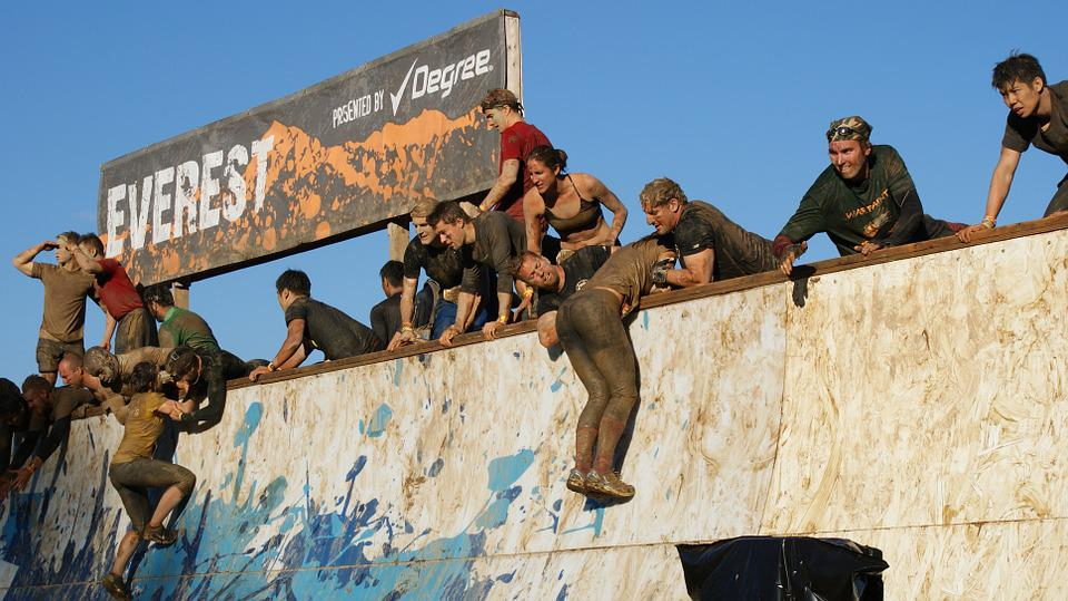 Tough Mudder, Teamwork, Tough, Mud, Race, Dirt, Rally
