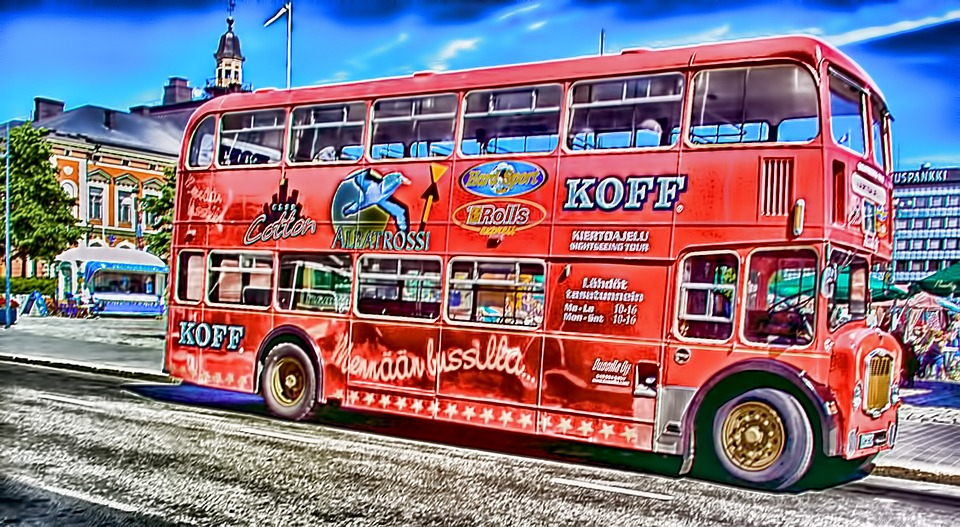 Bus, Tour, Kuopio, Finnish