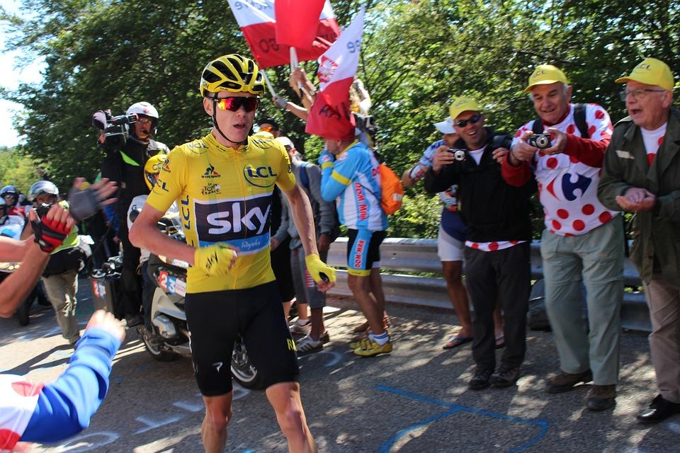 Cyclists, Chris Froome, Ventoux, Tour De France, 2016