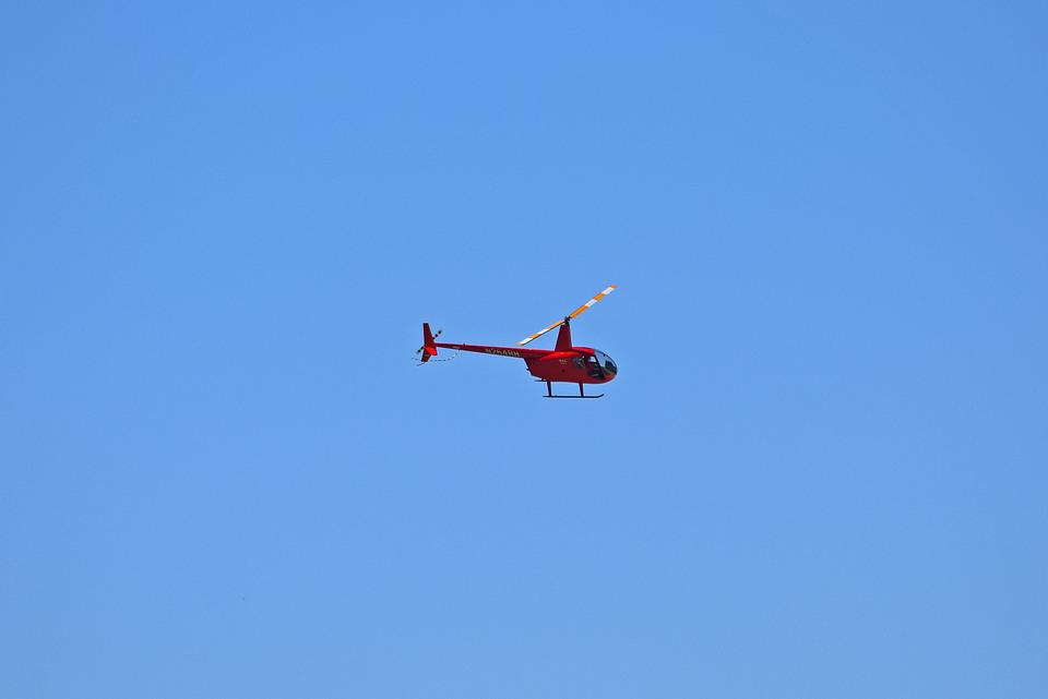 Tour Helicopter, Red Helicopter, Activity, Fun, Touring