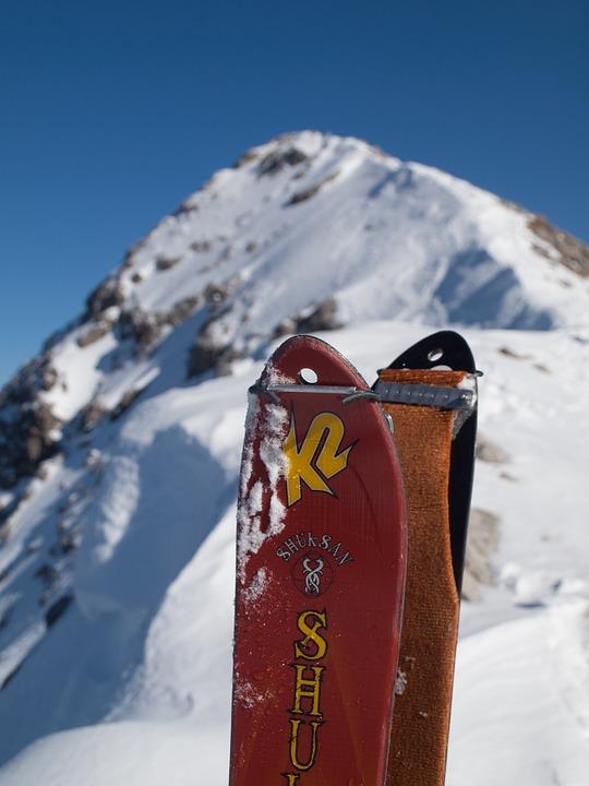 Touring Skis, Climbing Skins, Mountain