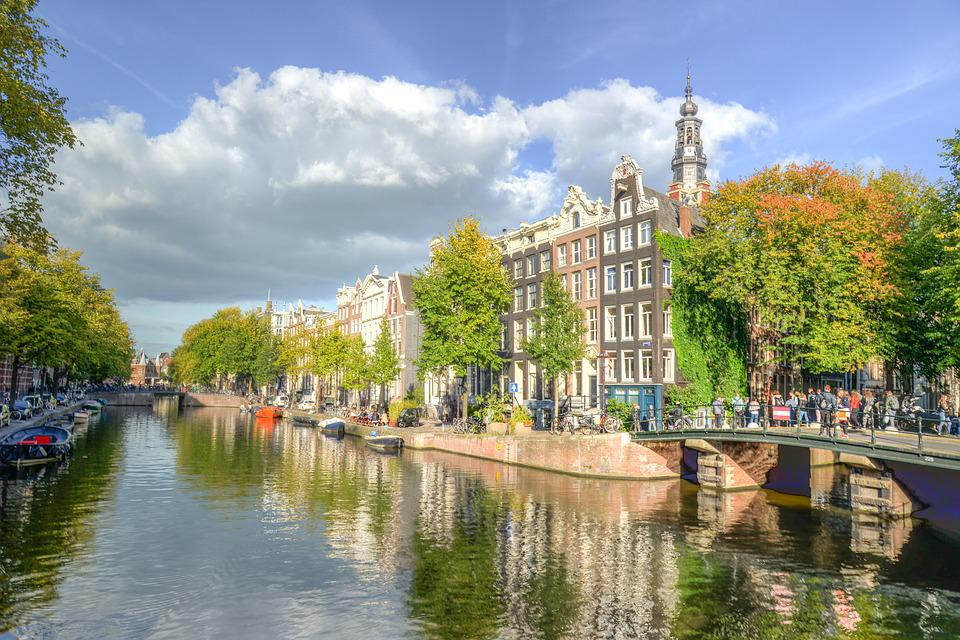 Canal, Amsterdam, Netherlands, Tourism, Water, Holland