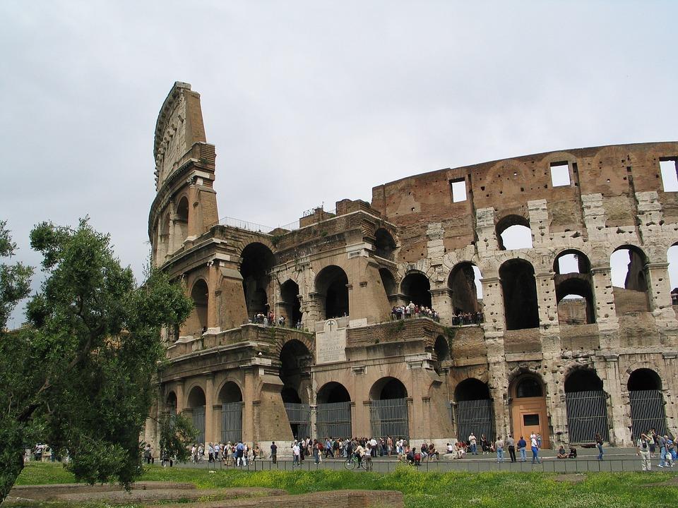 Architecture, Roman Empire, Tourism