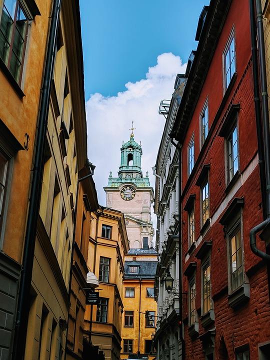 Stockholm, Building, City, Architecture, Tourism, Trip