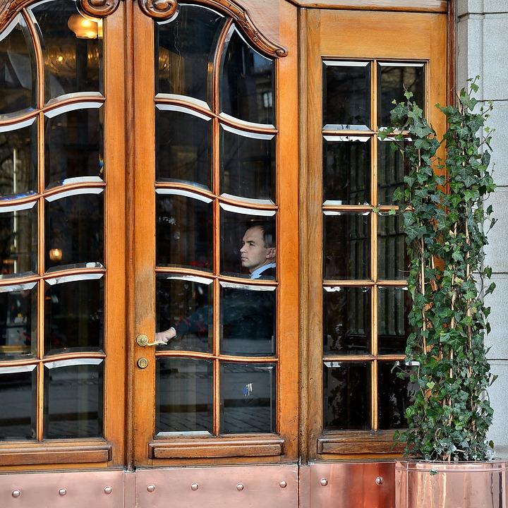 Hotel, Door, Entrance, Tourism, Building, Window