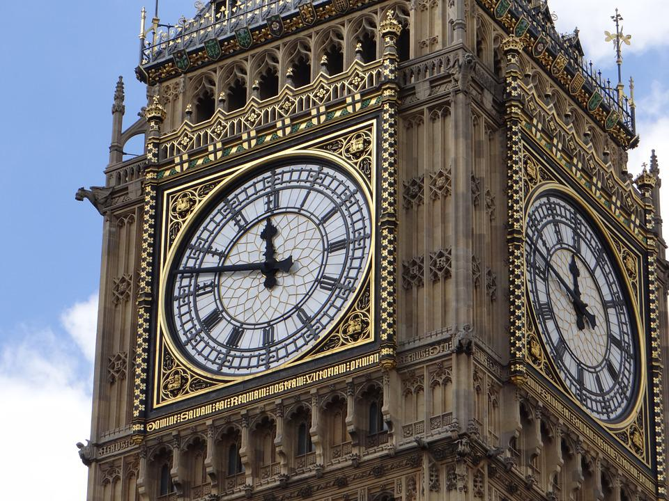 Big Ben, Clock, Tourism, London, England
