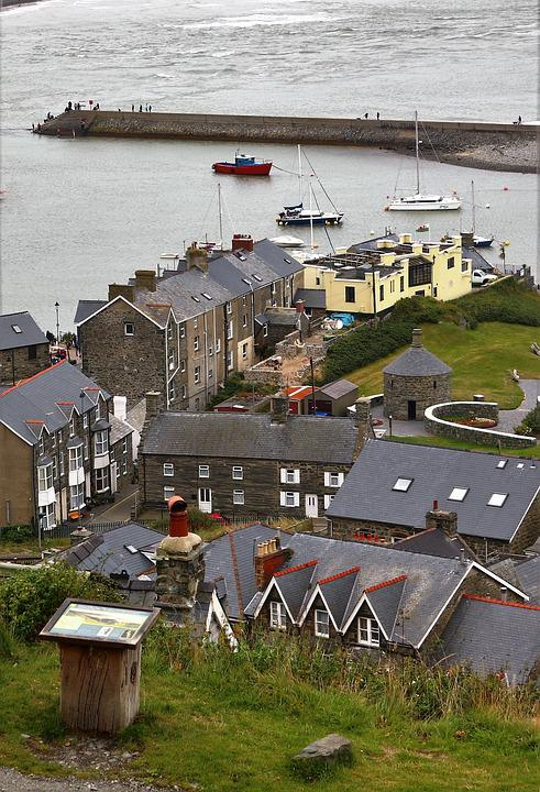 Barmouth, Wales, Sea, Clouds, Mawddach, Tourism, Boats