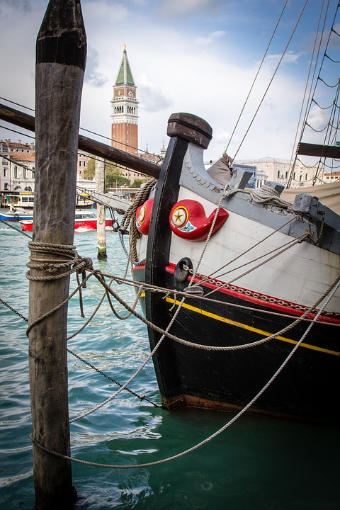 Venice, Italy, Gondola, Europe, Water, Canal, Tourism