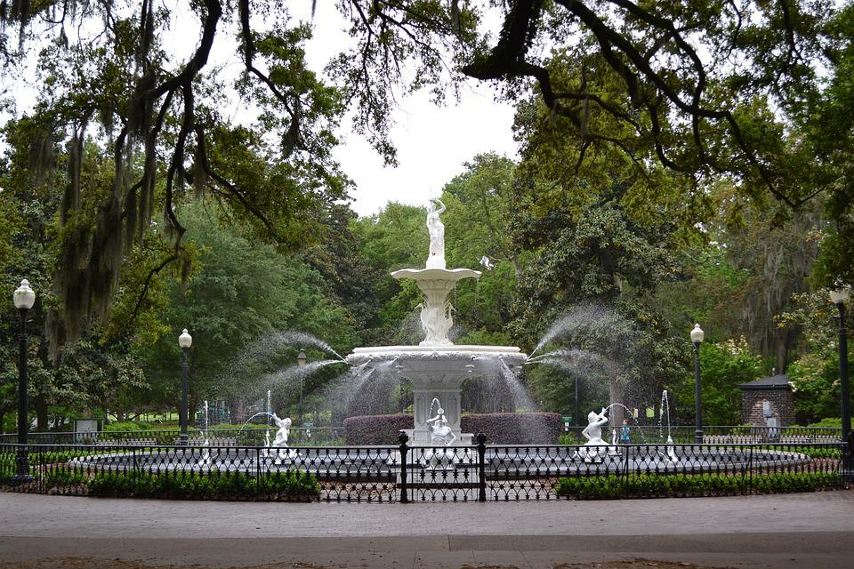 Savannah, Georgia, Southern, Historic District, Tourism