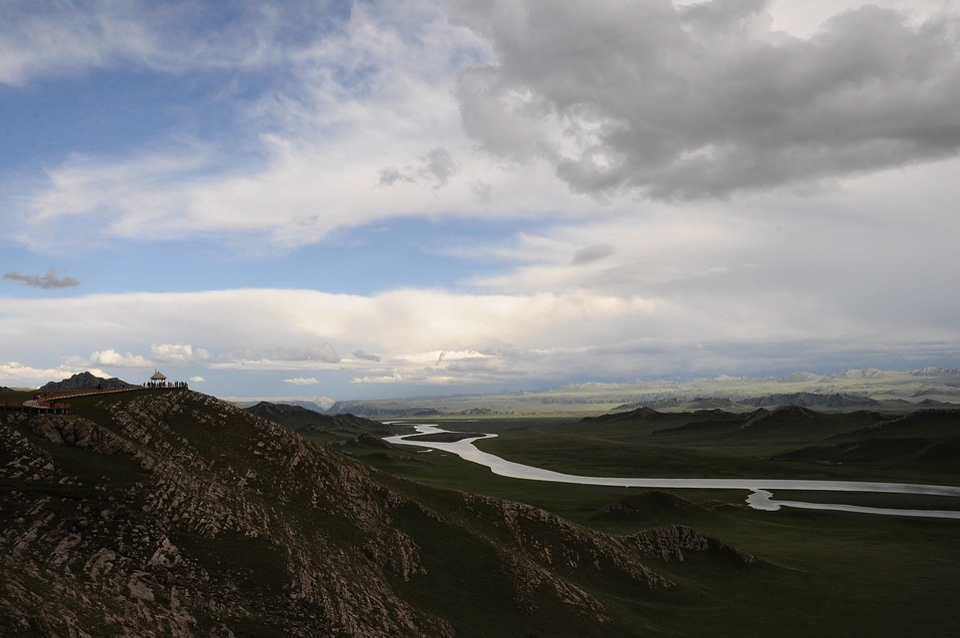 Palestinian Sound Brook, In Xinjiang, Tourism
