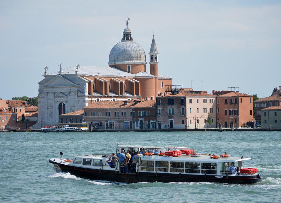 Italy, Europe, Boat, Channel, Tourism, Walk, Landscape