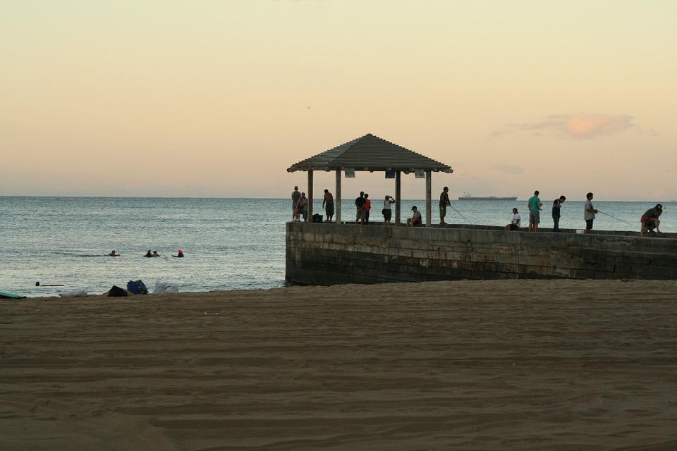 Hawaii, Beach, Sand, Mar, Tourism, Water, Landscape