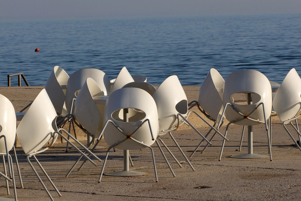 Chairs, Seats, Restaurant, Summer, Outdoor, Tourism
