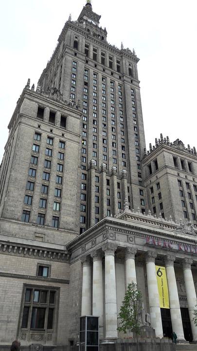Tower, Warsaw, Poland, Architecture, Building, Tourism
