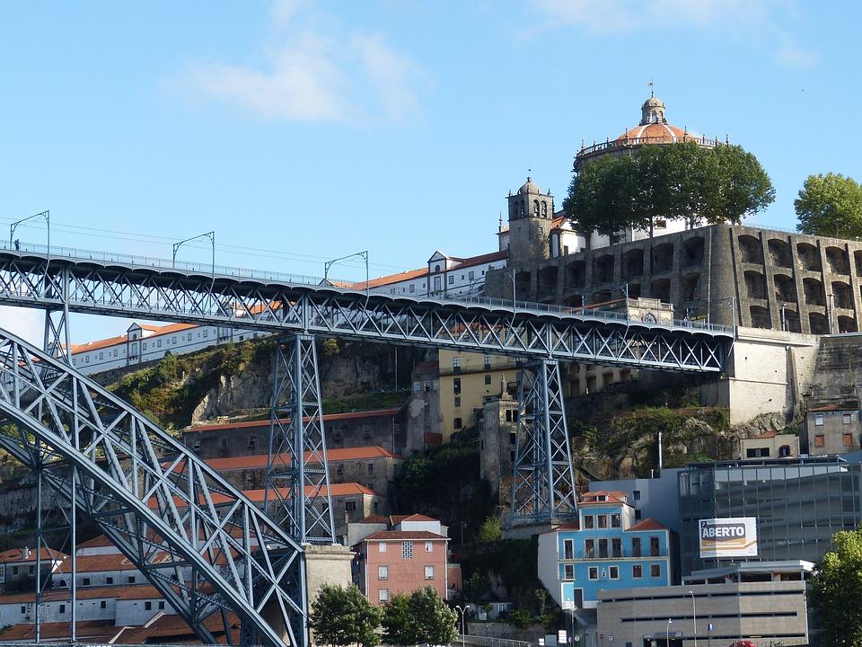 Bridge, Porto, Holiday, Portugal, Tourism, Old Town