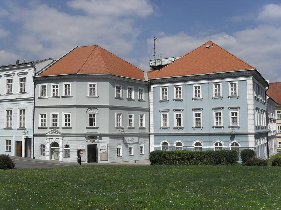 Teplice, Beethoven, Building, Roofs, Tourism, Tower