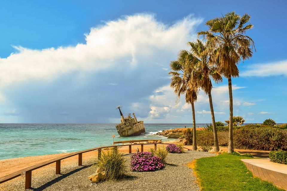 Shipwreck, Sea, Clouds, Boat, Wreck, Ship, Tourism