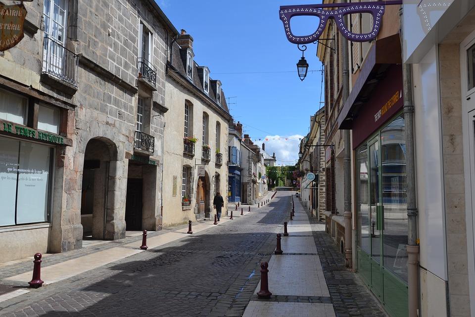 Shopping Street, Trade, Street, Tourism, Teaches