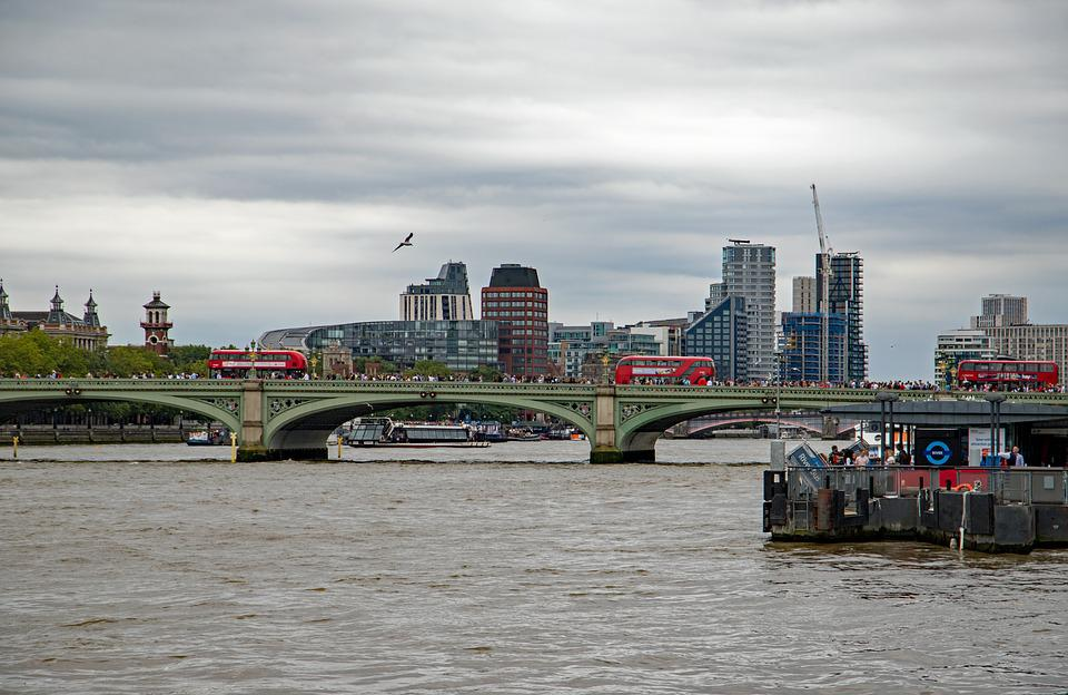 London, Thames, City, Tourism, Bridge, Cityscape