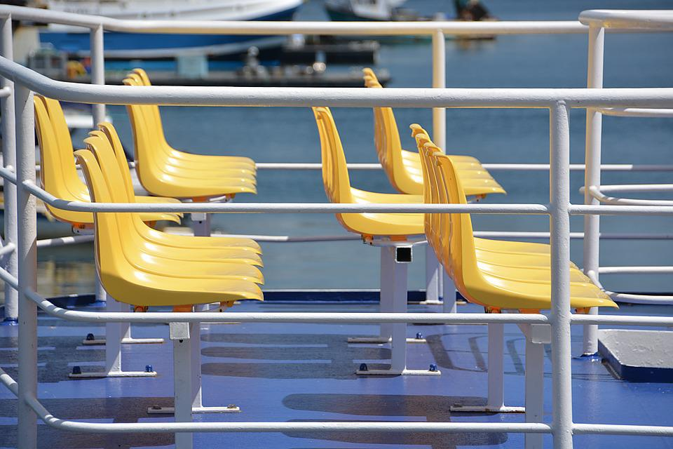 Seats, Travel, Tourism, Colors, Plastic, Cruise, Boat