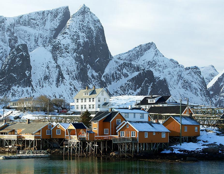 Water, Travel, Fjord, Outdoors, Tourism, Lofoten