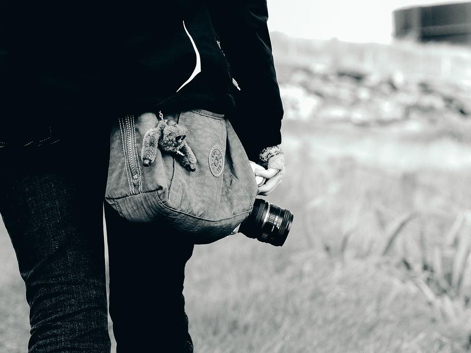 Camera, Bag, Photographer, Photography, Tourist, Travel
