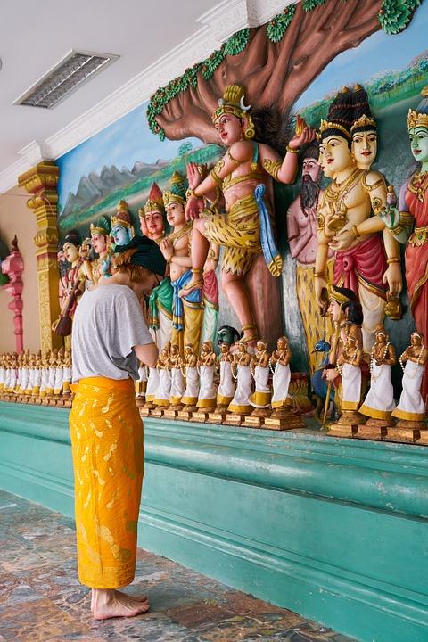 Tourist, Temple, Buddhist, Travel, Human, Asian
