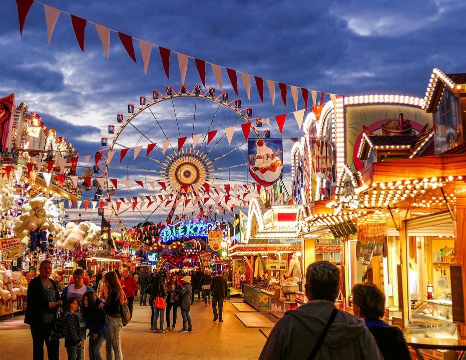 City, Travel, Tourism, Human, Tourist, Gambling, Fair