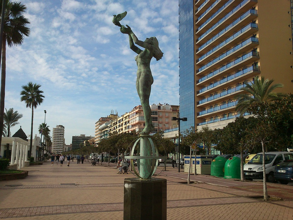 Tourist Sights, Promenade, Fuengirola