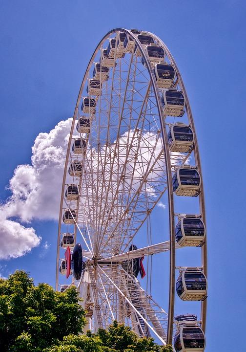 Wheel, Tourist, Attraction, Recreation, Amusement