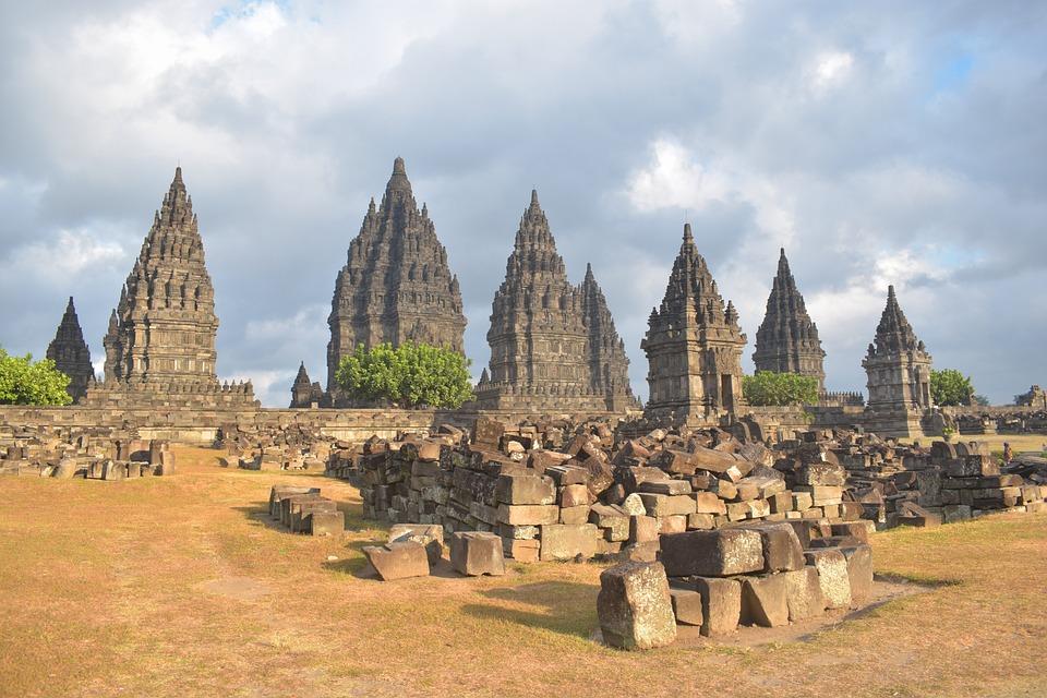 Prambanan, Temple, Indonesia, Yogyakarta, Tourist