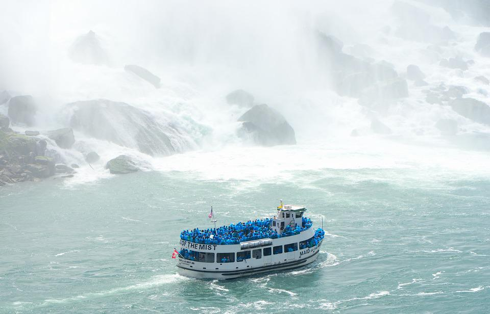 Boat, Ship, Water, Mist, Tourism, Tourists