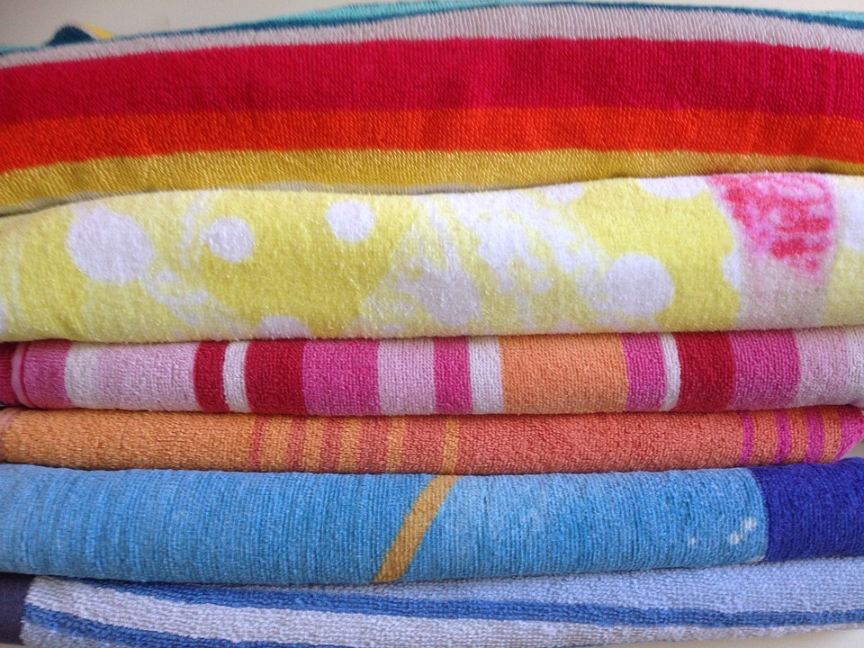 Towels, Towel, Bathroom, Soft, Cloth, Cotton
