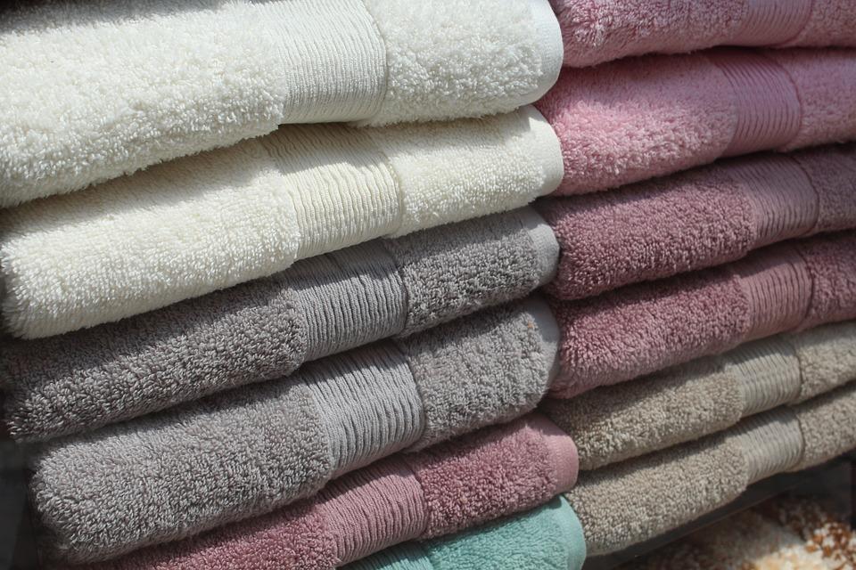 Towels, Linen, House, Bathroom, Dry