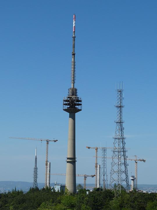 Antenna, Tower, Mobile Phone, Telecommunications, Send