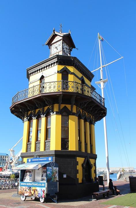 Clocktower, Tower, Architecture, Cape Town