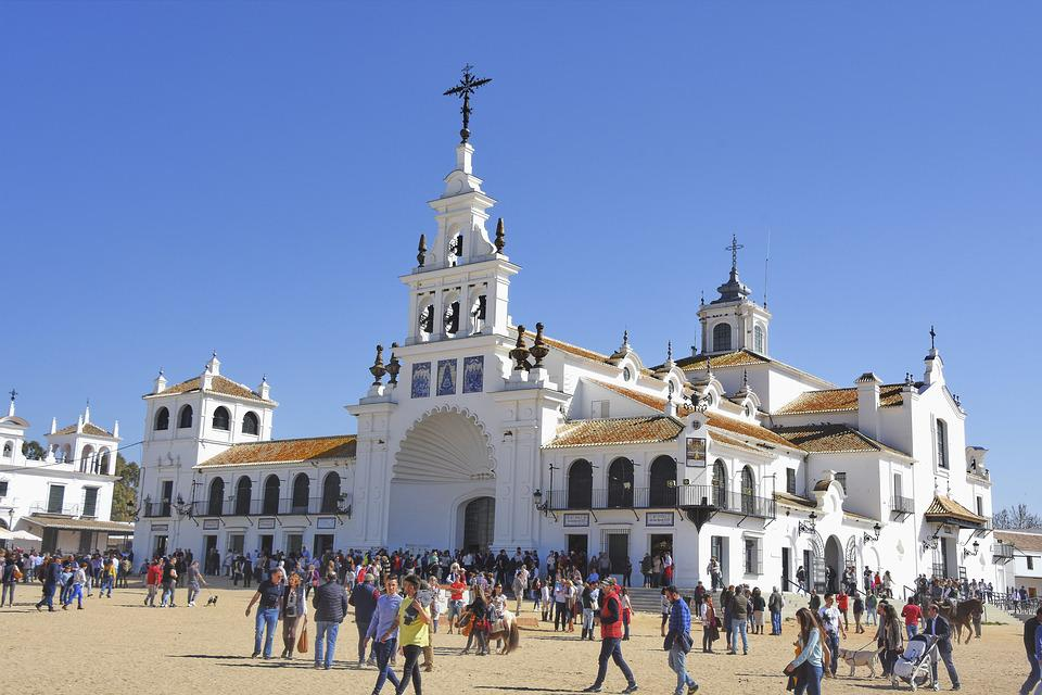 Rocio, Chapel, Bell Tower, Tower, Church, Architecture