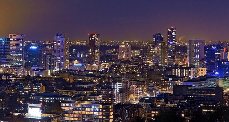 Rotterdam, Euromast, Netherlands, Tower, Architecture