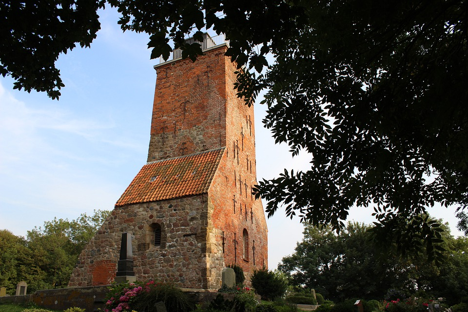 Ruin, Historical, Architecture, Church, Tower, Steeple